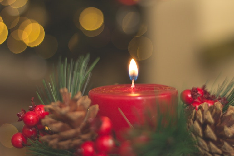velas navidad Irlanda